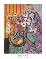 Matisse Purple Robe Art Print Click here to zoom in