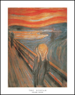 Munch The Scream Art Print Click here to zoom in