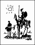 Picasso Don Quixote Art Print Click here to zoom in