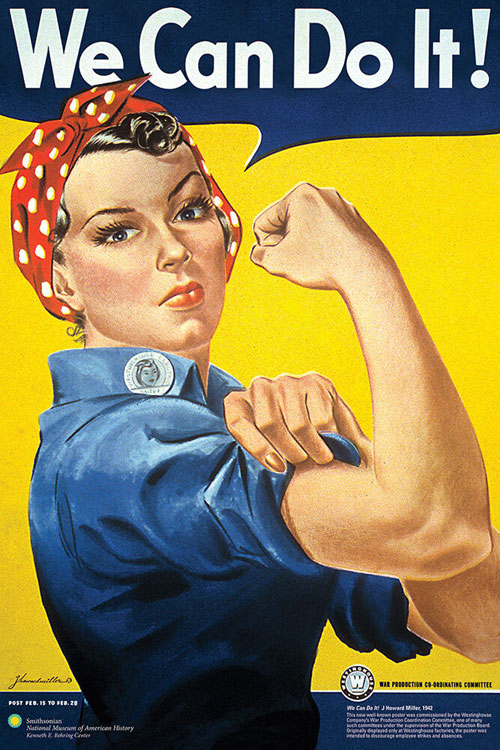 Rose the Riveter We Can Do It Poster