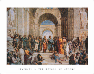 Raphael School of Athens Art Print Click Add to Cart to Order