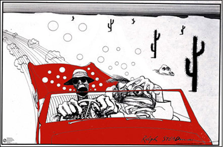 Ralph Steadman Fear and Loathing Click Add to Cart to Order
