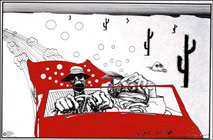 Ralph Steadman Fear and Loathing Click to zoom in