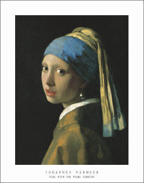 Vermeer Girl With the Pearl Earring Art Print Click Add to Cart to Order