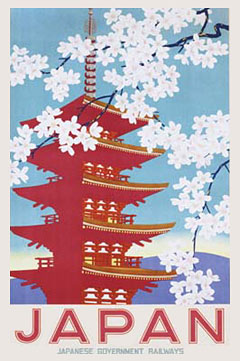 Japan Government Railways Poster