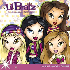 Little Bratz 2006 Calendar