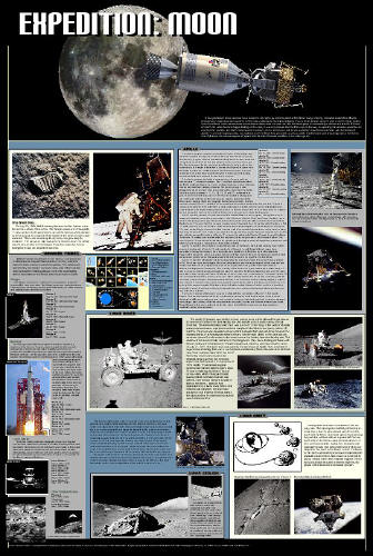 Expedition Moon Poster