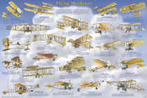 Flying Machines Poster