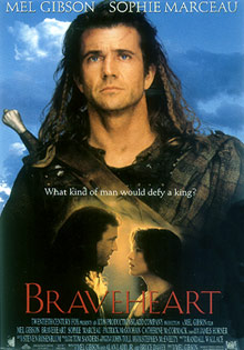 Braveheart Poster Mel Gibson Click Add to Cart to Order