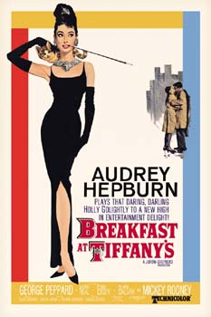 Breakfast at Tiffany's Poster  Click Add to Cart to Order