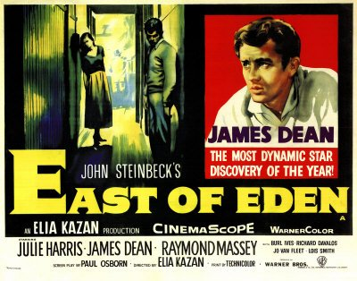 James Dean East of Eden Poster
