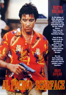 Al Pacino Scarface Poster