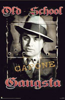 Al Capone Old School Gangsta Click to zoom in