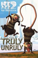 Ice Age 2 Crash and Eddie Poster