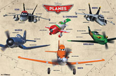 Planes Group Poster