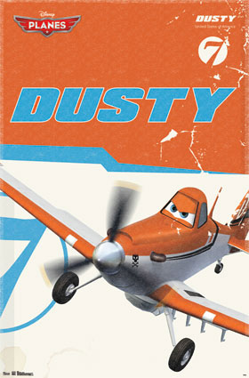 Planes Dusty Poster