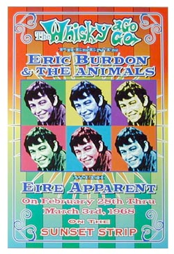 The Animals with Eric Burdon Poster Click Add to Cart to order.