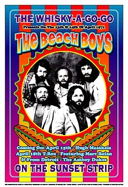 The Beach Boys Whisky A Go Go Poster Click Add to Cart to order.