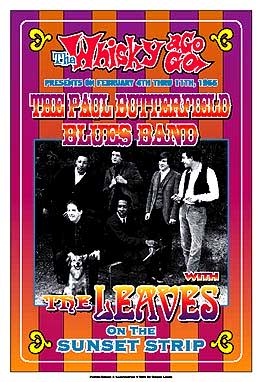 Paul Butterfield Blues Band Poster