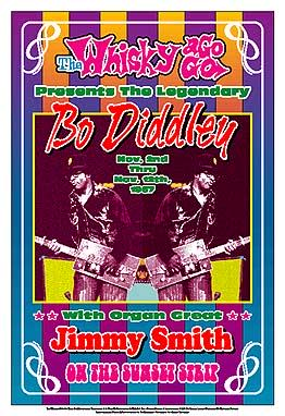 Bo Diddley Concert Poster