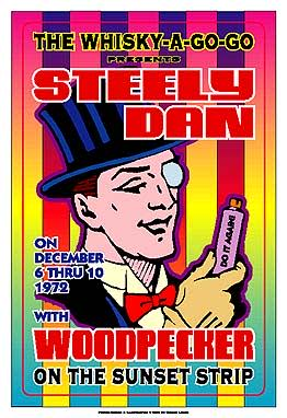 Steely Dan Poster Click Add to Cart to order.