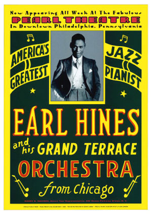 Earl Hines Concert Poster 1929