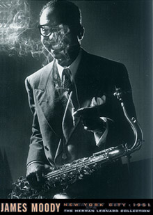 James Moody 1951 Poster