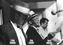 Sinatra Crosby and Martin Poster