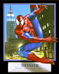 Honor Spiderman Motivational Poster