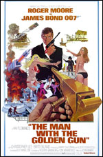 James Bond The Man with the Golden Gun Poster