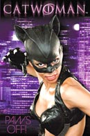 Catwoman Paws Off! Poster