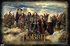 The Hobbit Group Poster