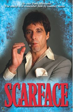 Scarface Cigar Poster
