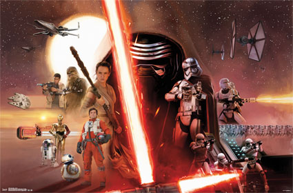 The Force Awakens - Group Poster