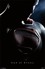 Superman Man of Steel Heat Vision  Poster