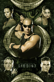 Riddick Chronicles Poster