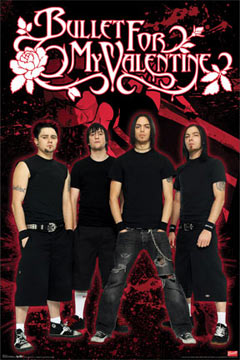 Bullet for My Valentine Poster
