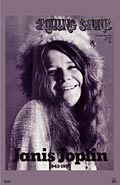 Janis Joplin Rolling Stone Poster Click to zoom in