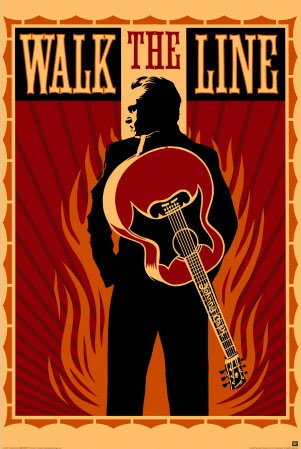 Walk the Line Poster Johnny Cash Click Add to Cart to Order