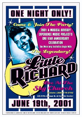 Little Richard Poster Click Add to Cart to order.