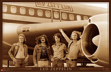 Led Zeppelin On Tour Poster Click here to zoom in.