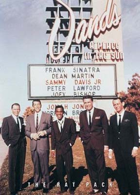 The Rat Pack Sands Casino Poster Las Vegas