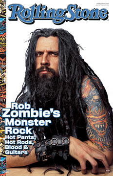 Rob Zombie Rolling Stone Poster