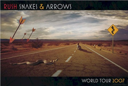 Rush Snakes and Arrows Tour Poster