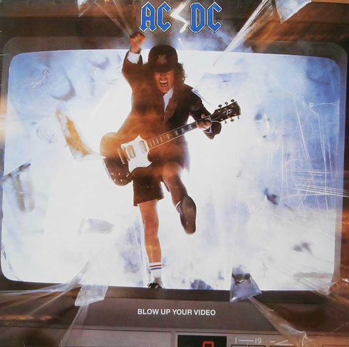 AC/DC Blow Up Your Video Poster