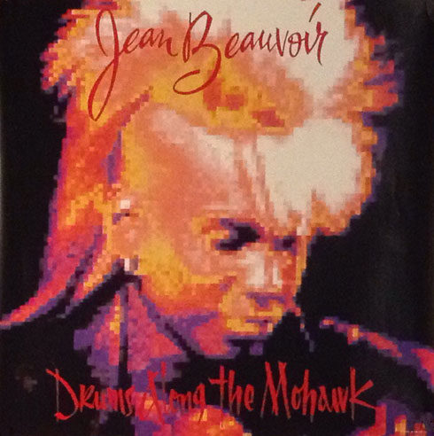 Jean Beauvoir Drums along the Mohawk Poster