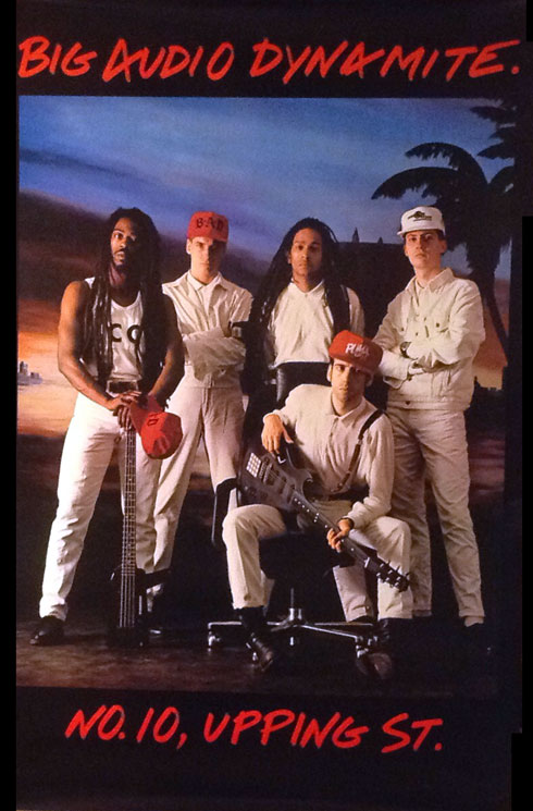Big Audio Dynamite 1986 Poster