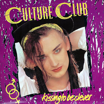 Culture Club Kissing to be Clever poster