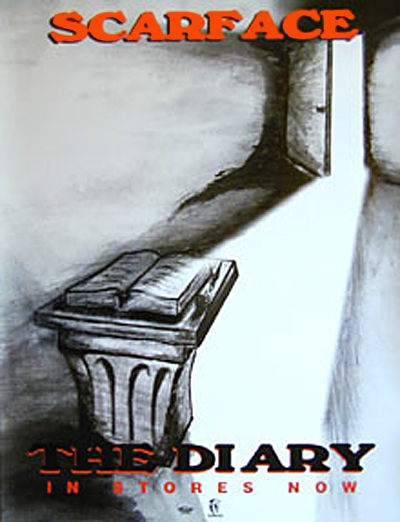 Scarface The Diary Poster
