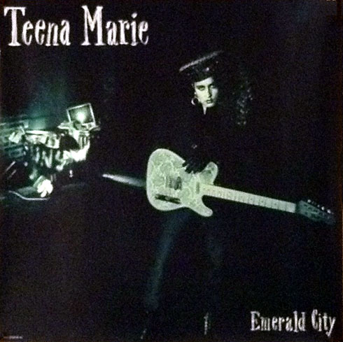 Teena Marie Emerald City Poster